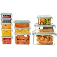 Wellslock Classic 1-Lock 22-Piece Food Storage Container Set $14.98