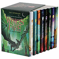 Wings of Fire: 8 Book Box Set By Tui T. Sutherland  $29.99