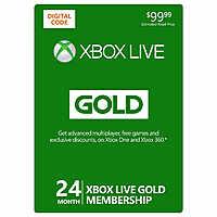XBOX Live 24-Month Gold Membership Digital Download $94.99