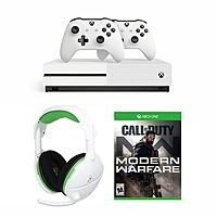 Xbox One S 1TB Call of Duty: Modern Warfare Bundle w/ 2 Controllers w/ Turtle Beach 600X Gaming Headset + $90 Kohls Cash $320 + free shipping