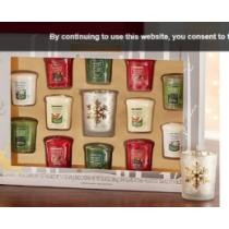 Yankee Candle Holiday Gift Sampler Set Now $34.99 + Free shipping