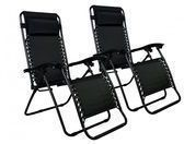 Zero Gravity Lounge Chairs - Set Of Two
