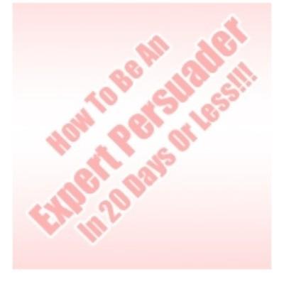 20 Day Persuasion