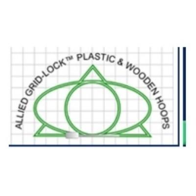 Allied Grid-LockTM Plastic & Wooden Embroidery Hoops