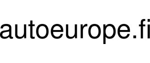 Exclusive Coupon Codes at Official Website of Autoeurope.fi