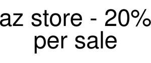 Az Store - 20% Per Sale