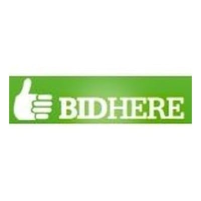 Exclusive Coupon Codes at Official Website of BidHere