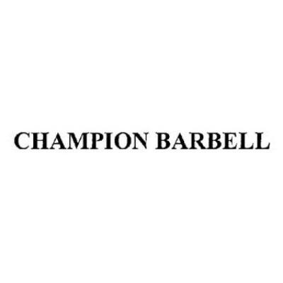 Champion Barbell