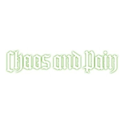 Buy One Get One Free on Genius Plus 25% Off Everything at Chaos and Pain (Site-Wide)