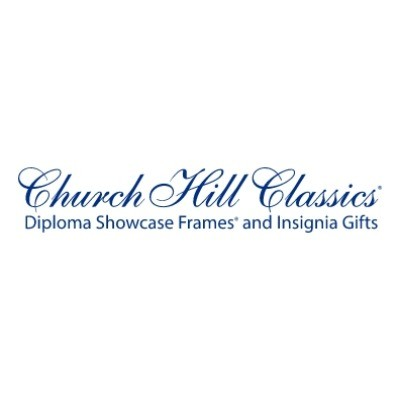Exclusive Coupon Codes at Official Website of Church Hill Classics