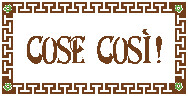 Exclusive Coupon Codes at Official Website of Cose Così