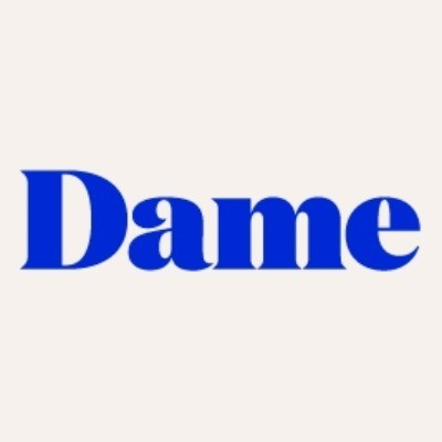 Check special coupons and deals from the official website of Dame Products