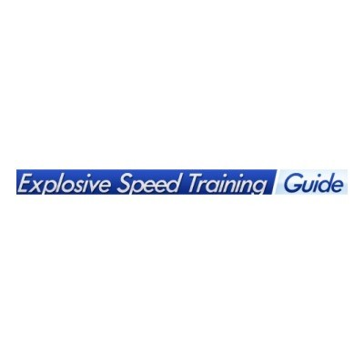 Explosive Speed Training Guide