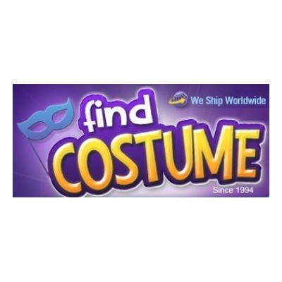 Check special coupons and deals from the official website of Find Costume