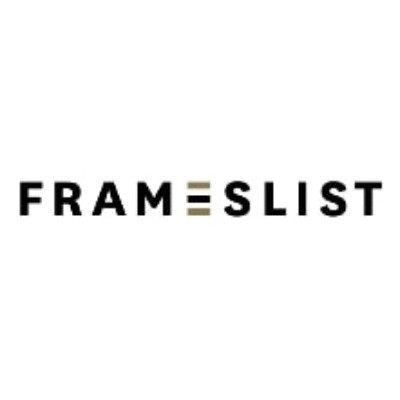 Exclusive Coupon Codes at Official Website of Frameslist
