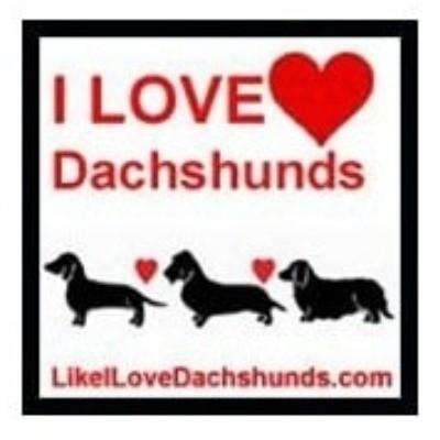 I Love Dachshunds Shop