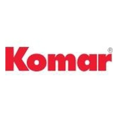 Check special coupons and deals from the official website of Komar
