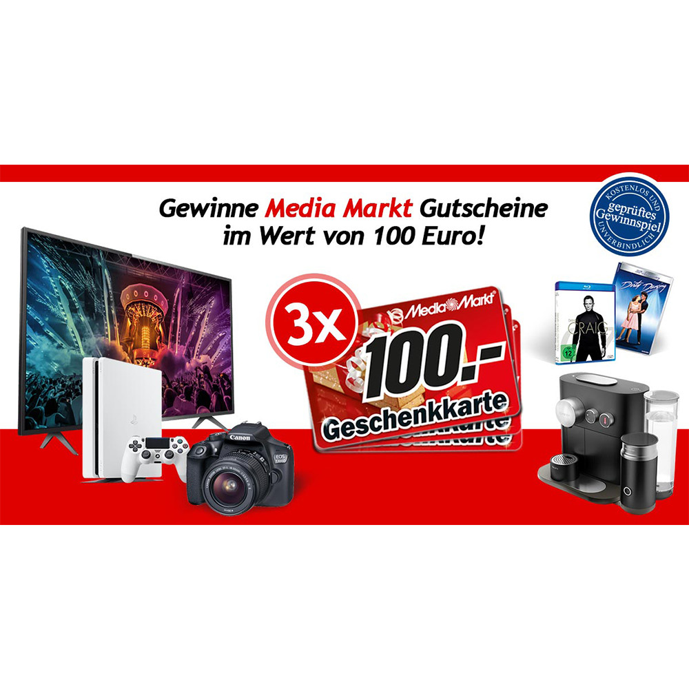 Exclusive Coupon Codes at Official Website of Media Markt Gewinnspiel