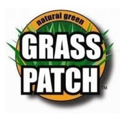 Natural Green Grass Patch