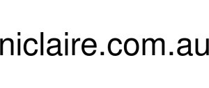 Exclusive Coupon Codes at Official Website of Niclaire Au