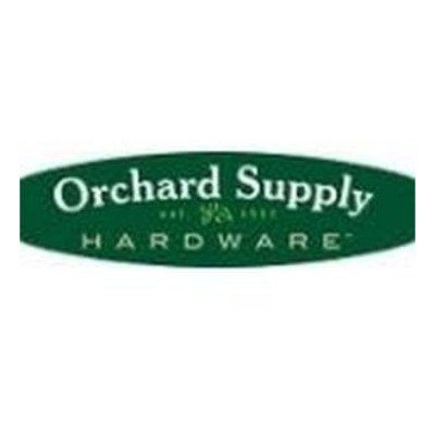 Exclusive Coupon Codes at Official Website of Orchard Supply Hardware