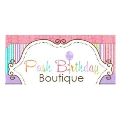 Posh Birthday Shop