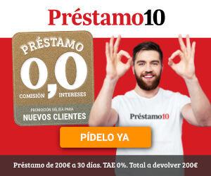 Exclusive Coupon Codes at Official Website of Prestamo10 -Es