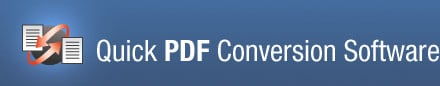 Quick PDF To Word Conversion Software