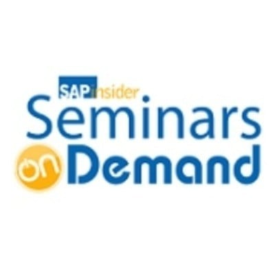 SAPinsider Seminars