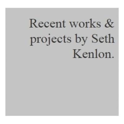 Seth Kenlon