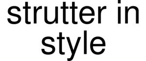 Exclusive Coupon Codes at Official Website of Strutter In Style