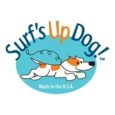 Surfs Up Dog