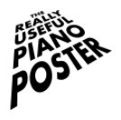 The Really Useful Piano Poster