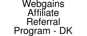 Black Friday Deals + Exclusive Coupon Codes @ Official Website of Webgains Affiliate Referral Program - Dk