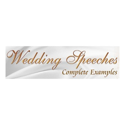 Wedding Speeches Complete Examples